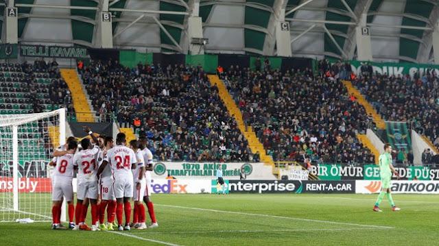 Crónica Akhisar Belediyespor 2 - Sevilla FC 3