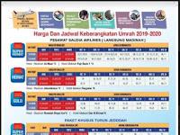 Jadwal Keberangkatan Umroh 2019-2020