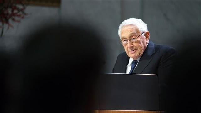 Henry Kissinger praises Donald Trump's pick of Rex Tillerson for secretary of state
