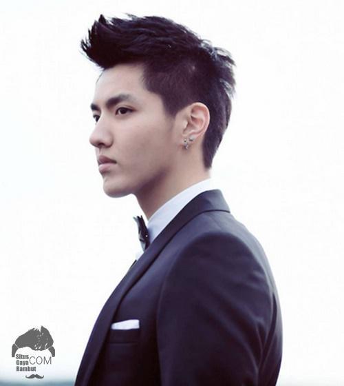 model gaya rambut korea pria terbaru