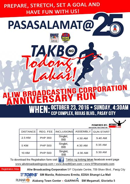 Few More Days Before Aliw Broadcasting Corporation Anniversary Run