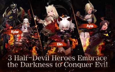 Free Download Devilian MOD APK Data Terbaru Cheat Unlimited Coins Full Version for Android