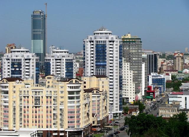 Yekaterinburg, Cidade Russa