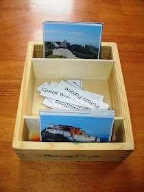 Historic places of China nomenclature cards (Free Printable)
