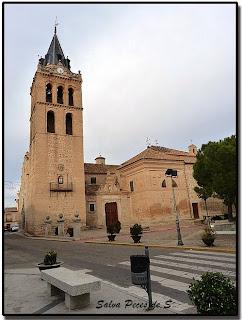Resultado de imagen de En Ajofrín, destacar la iglesia dedicada a Santa María Magdalena,