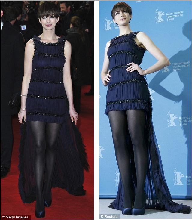 Sheer Genius! Anne Hathaway Has The Best Of Both Worlds