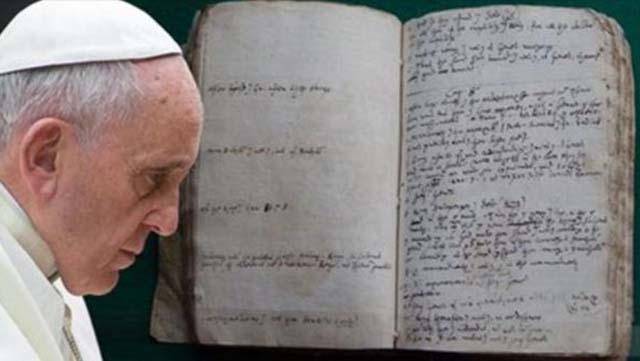 Un antiguo manuscrito de la Biblia ha sido descubierto, demostrando que es una obra de ficción