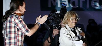 Podemos, Ahora Madrid, Hugo Chavez, Asesora, Madrid, Ayuntamiento