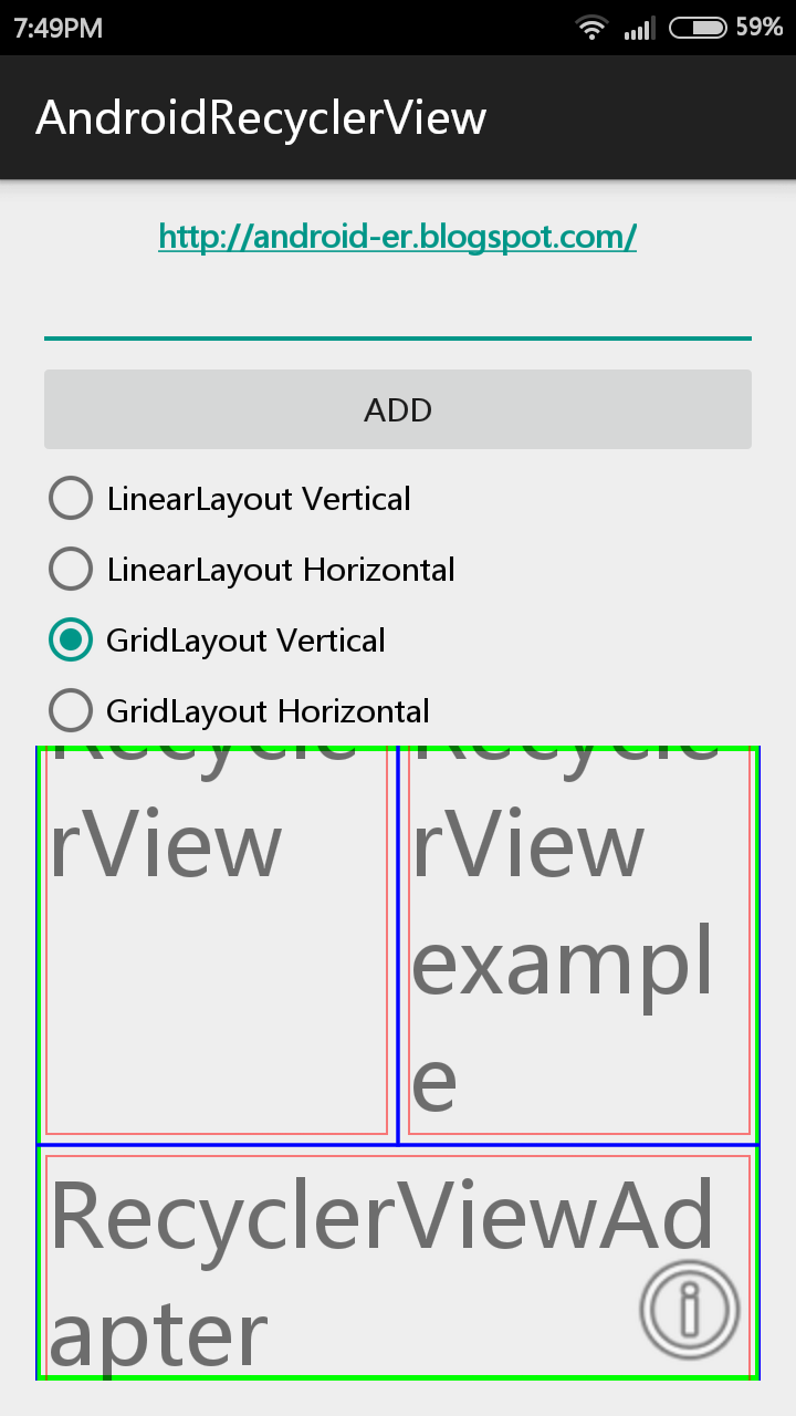 Android-er: onDraw() and onDrawOver() of ItemDecoration for RecyclerView