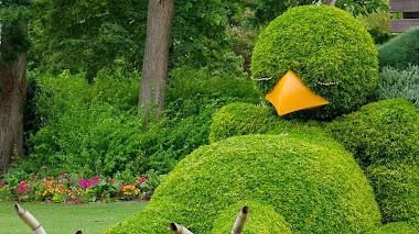 Claude Ponti en Le Jardin des Plantes