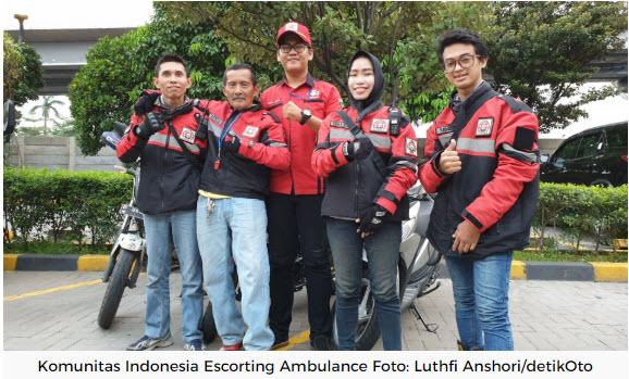 Indonesia Escorting Ambulance Komunitas Pengawal Ambulance