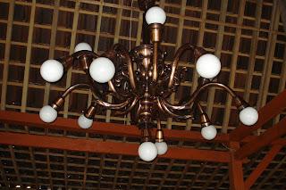 Lampu Robyong Tembaga Kuningan