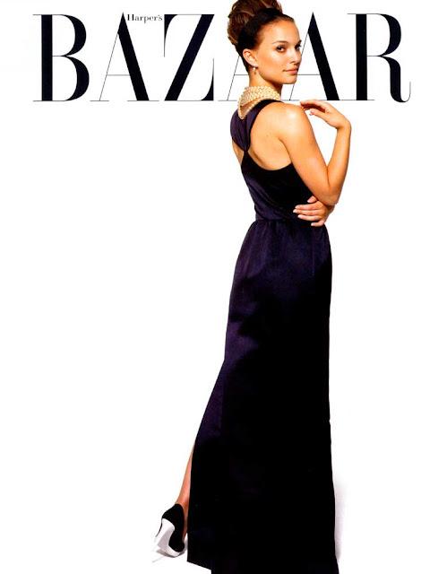 Natalie Portman capa da Haper Bazaar 2006