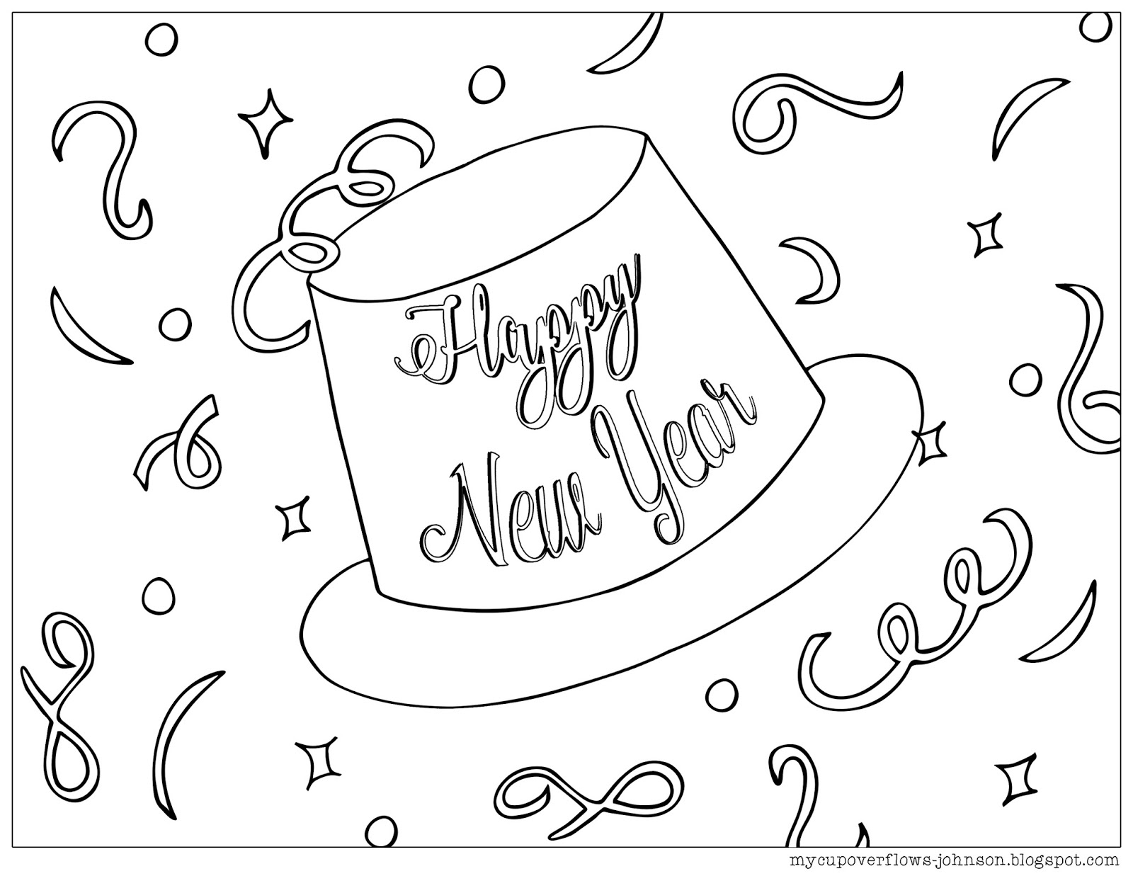 My Cup Overflows Happy New Year