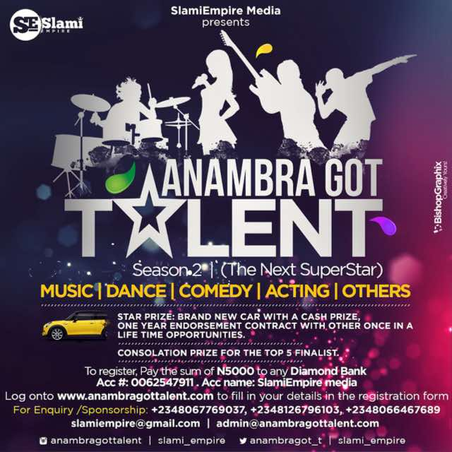 Anambragottalent for lexhansplace