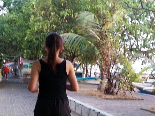 Pantai Sanur ・ jog in the morning