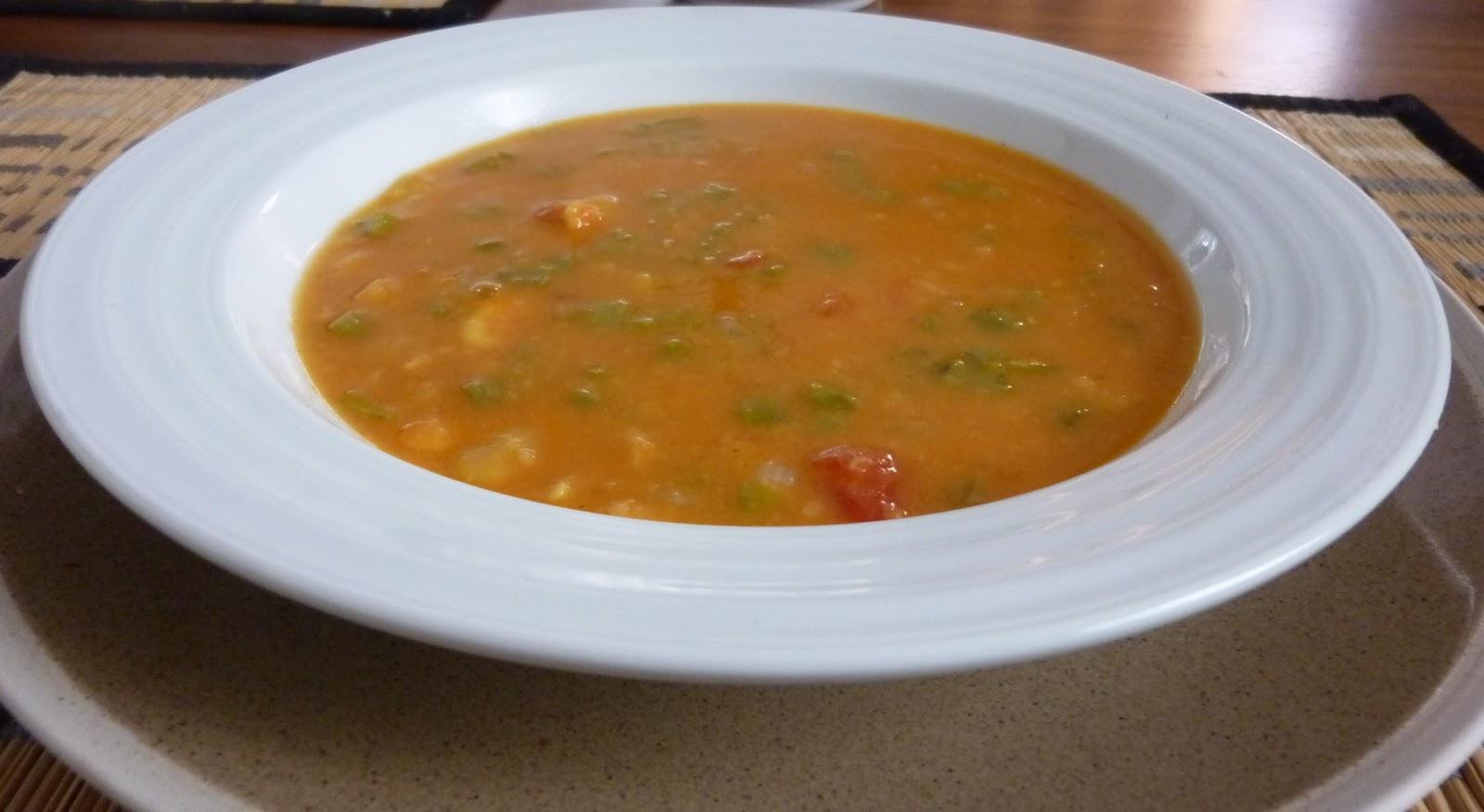 En la sobremesa de mar a receta de sopa de habas a la for Como cocinar habas secas