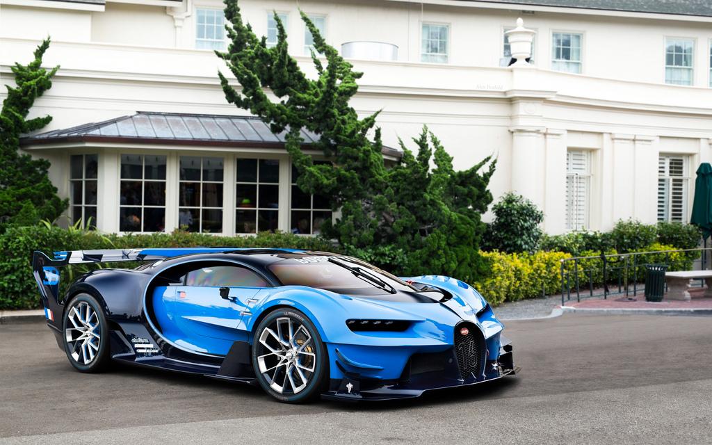 Bugatti Vision Gran Turismo 2016 siêu hiếm, siêu đắt giá chỉ có ở Mỹ
