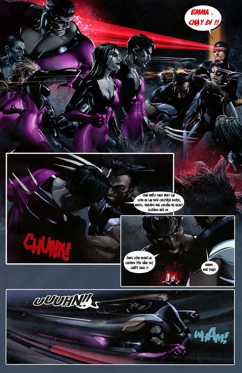 X-Men Necrosha chap 1 trang 23