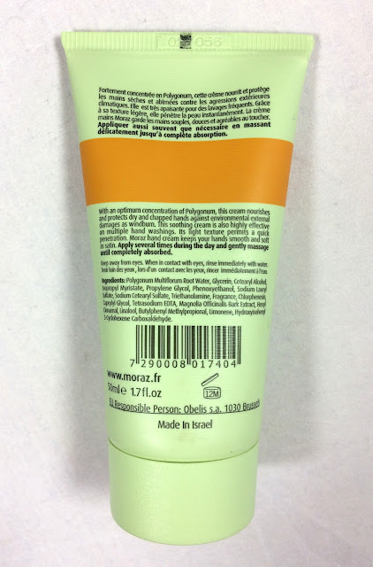 MORAZ Polygonum Medicinal Herbs Hand Cream