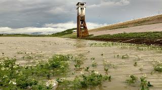 Quase oito horas de chuvas; aumenta recarga de Açude na Paraíba