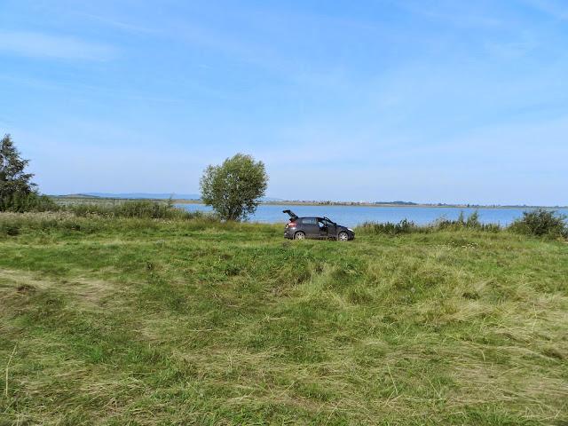 Место на берегу озера Малые Касли