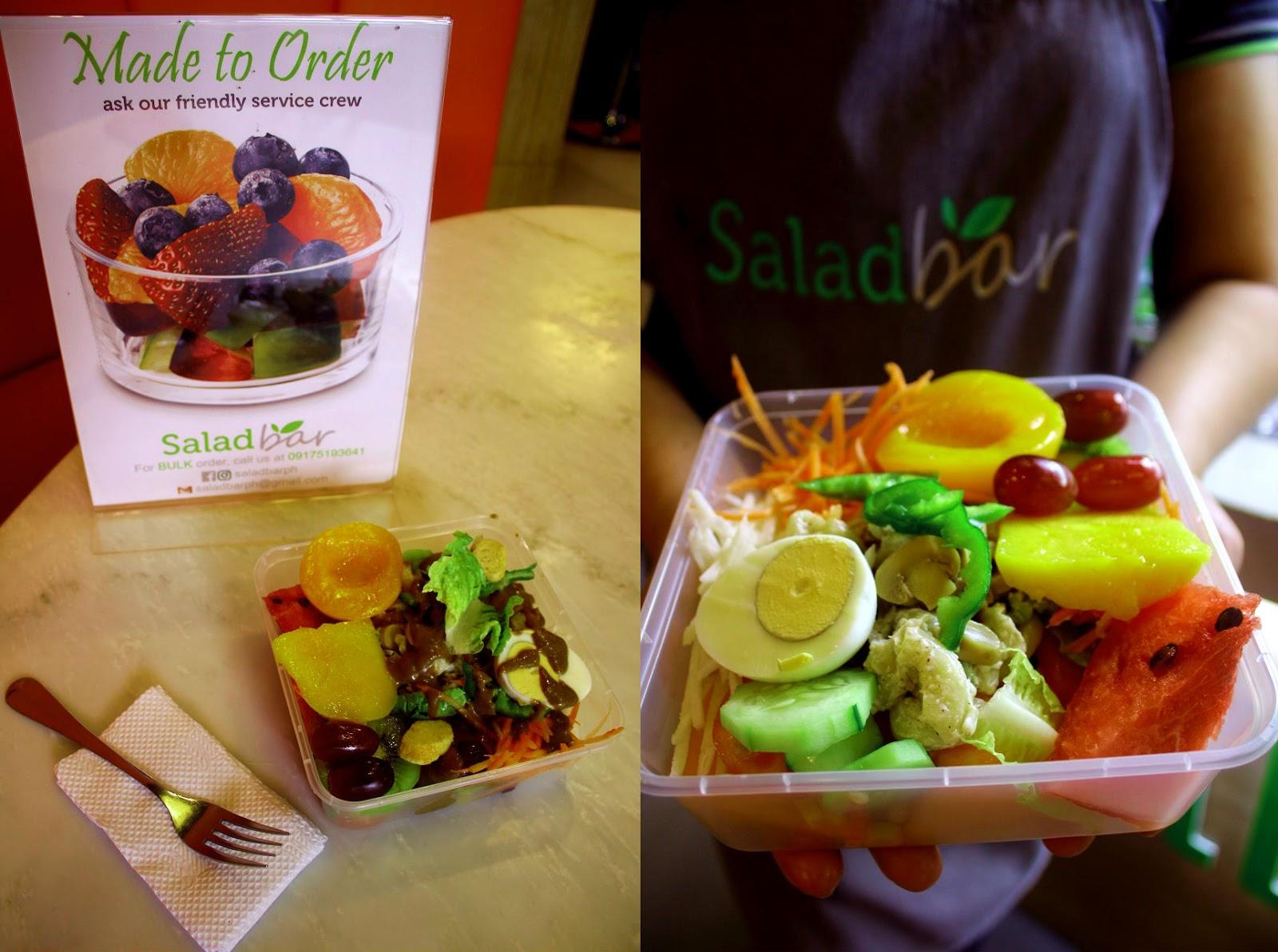salad bar in manila