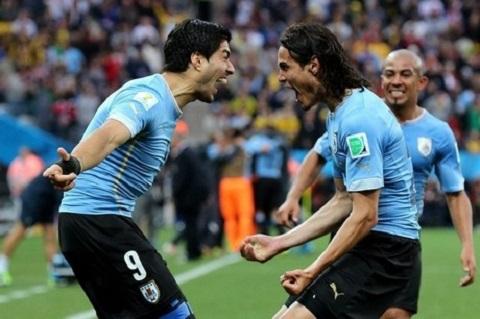 Uruguay đang sở hữu cặp đội tiền đạo đáng sợ nhất World Cup 2014.