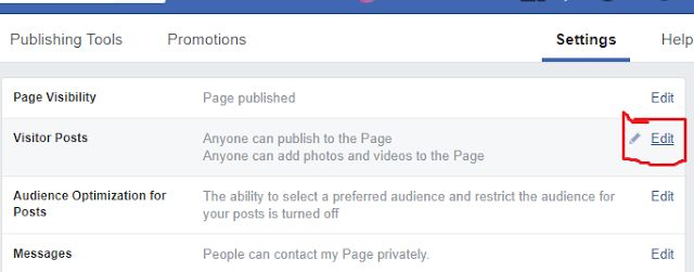 STep4 - Secret Guide: How to Stop Visitor Posts on Facebook Business Page