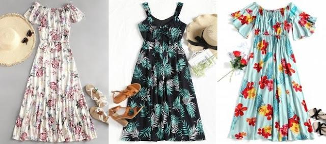 ZAFUL, moje propozycje na lato/sukienki.