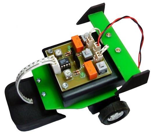 LTA/LF Analog 4 Sensor dengan 2 Relay