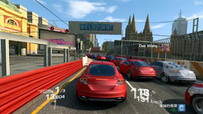 Tampilan Game Real Racing 3