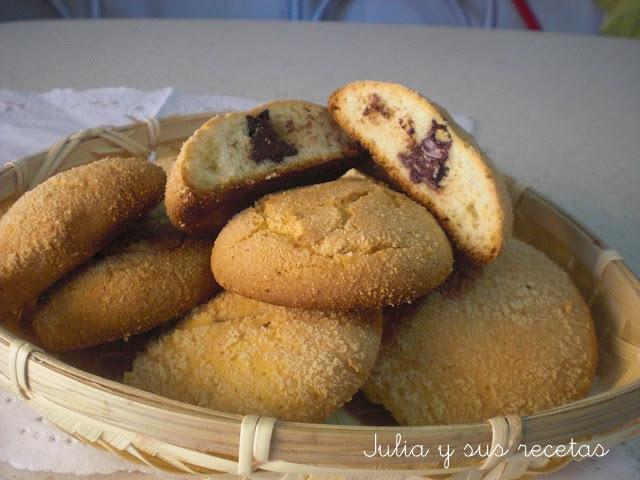 Delicias de almendra y chocolate. Julia y sus recetas