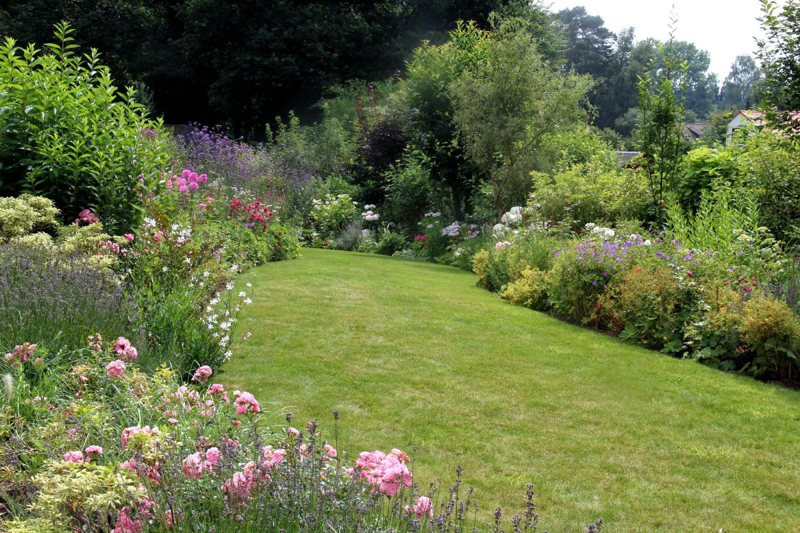 jardin avec arbustes des arbustes pour petit jardin roses guillot arbuste persistant dans le. Black Bedroom Furniture Sets. Home Design Ideas