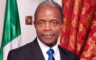 Nigerian Acting President Yemi Osinbajo