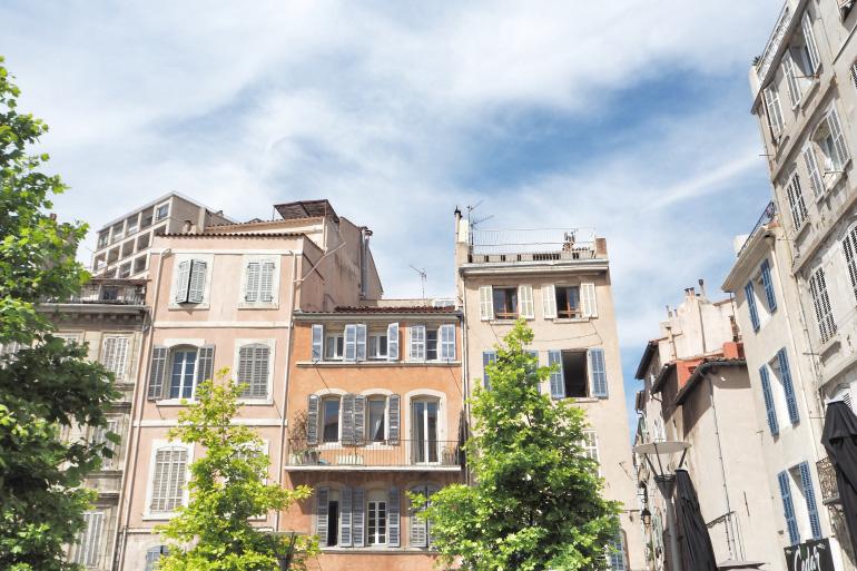 Promenade dans le quartier du Panier à Marseille