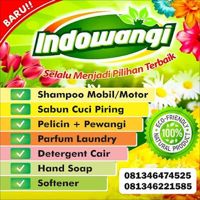 Indowangi Chemical - Laundry & Pewangi