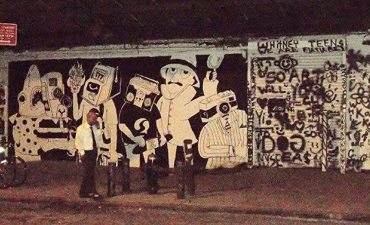 Building A Bridge To Legal Street Art