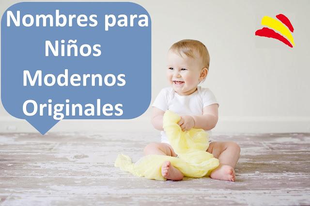 nombres niños chicos modernos originales bebes bonitos cortos famosos tendencia comunes españoles españa