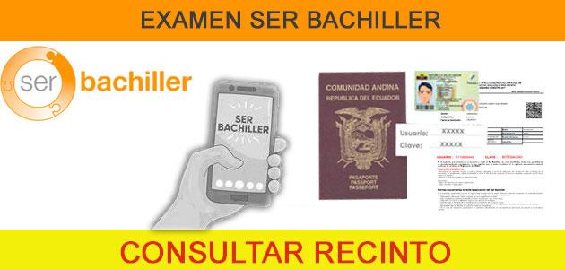 Consultar Sede Recinto Ser Bachille por Telefono