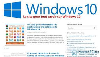 Win10.fr pour tout savoir sur Windows 10