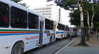 Frotas de ônibus são reduzidas na Paraíba por falta de combustível