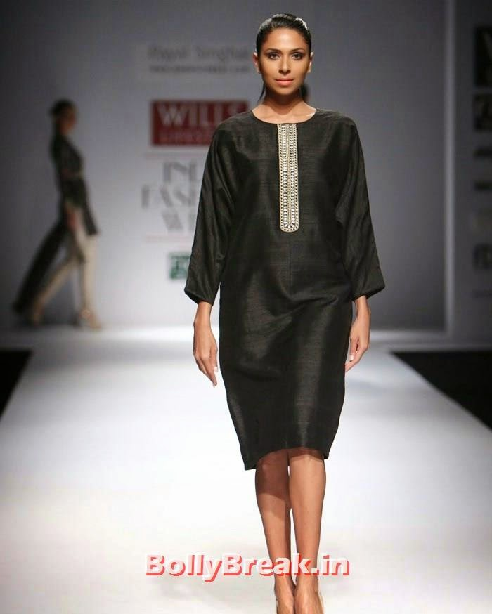 Payal Singhal Show Wills Lifestyle India Fashion Week SS15