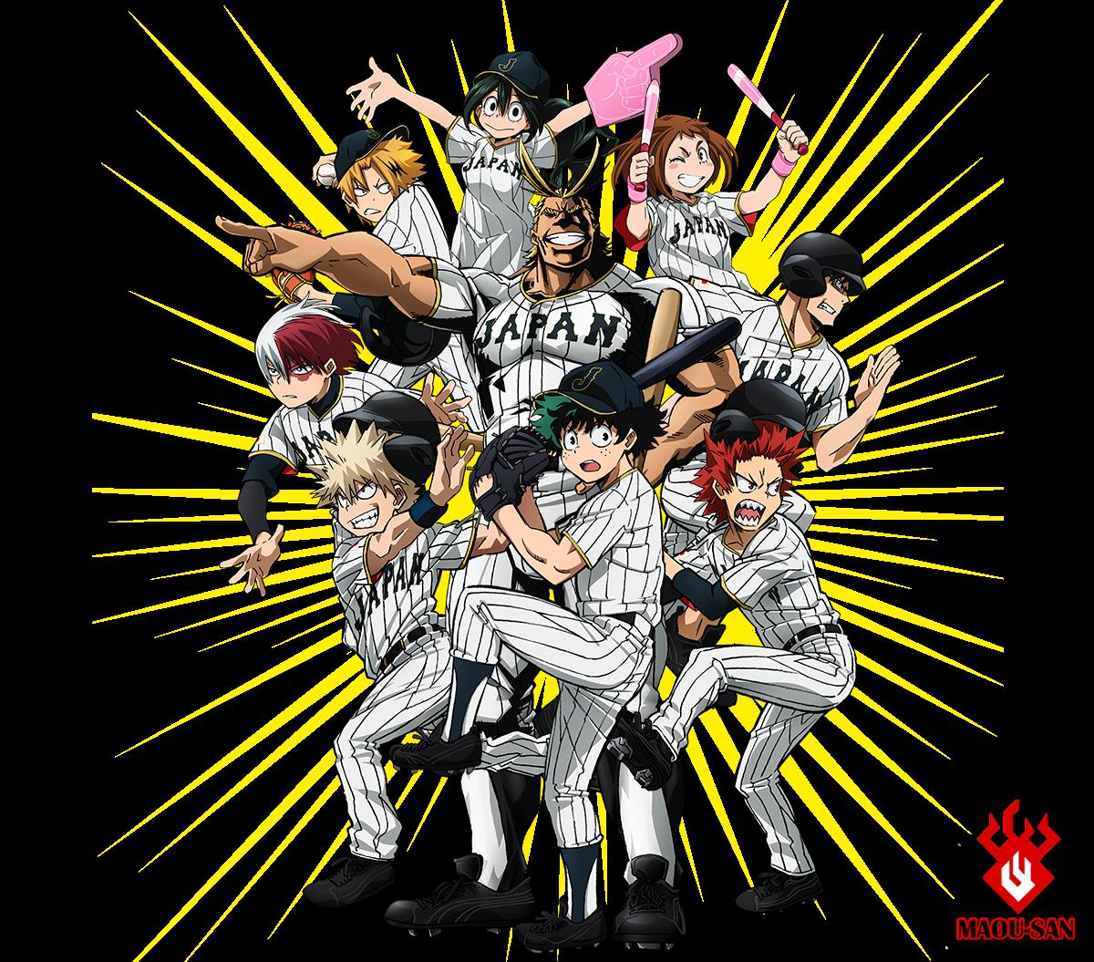 JAPAN Baseball Hero Academia