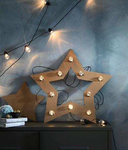 Navidad: cómo decorar tu casa con guirnaldas de luces de Ikea