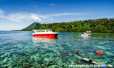 Pulau Bunaken, Surga Taman Bawah Laut