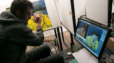 Loving Vincent detrás de las cámaras
