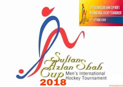 Jadual dan Keputusan Perlawanan Kejohanan Hoki Piala Sultan Azlan Shah 2018