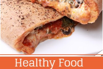 Healthy Food - Spinach Calzone