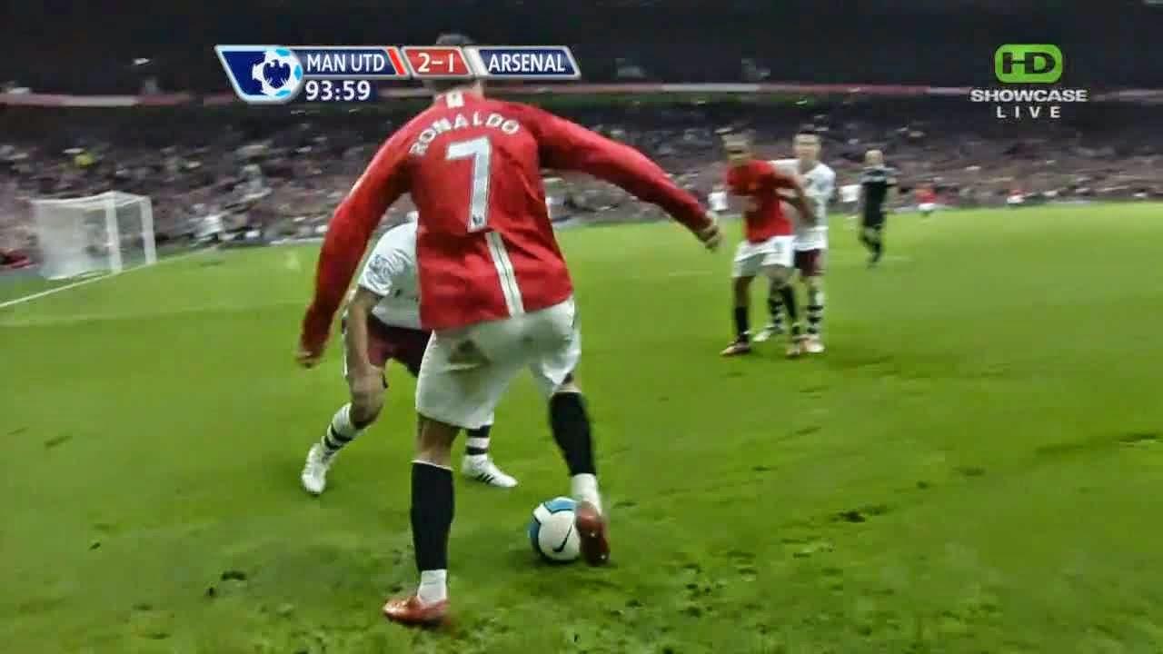 Ronaldo Skills Vs Arsenal